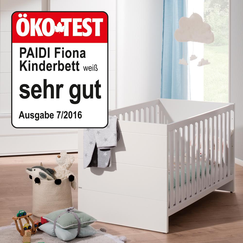 Paidi Kindermöbel Kinderbett gewinnen Blauer Engel