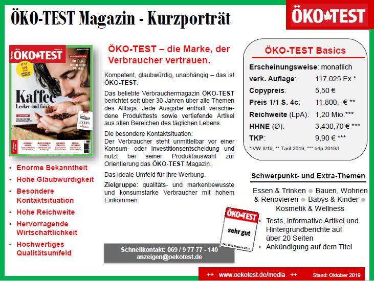 ÖKO-TEST Mediadaten 2020